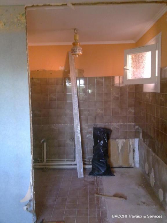 Agrandissement de la salle de bain