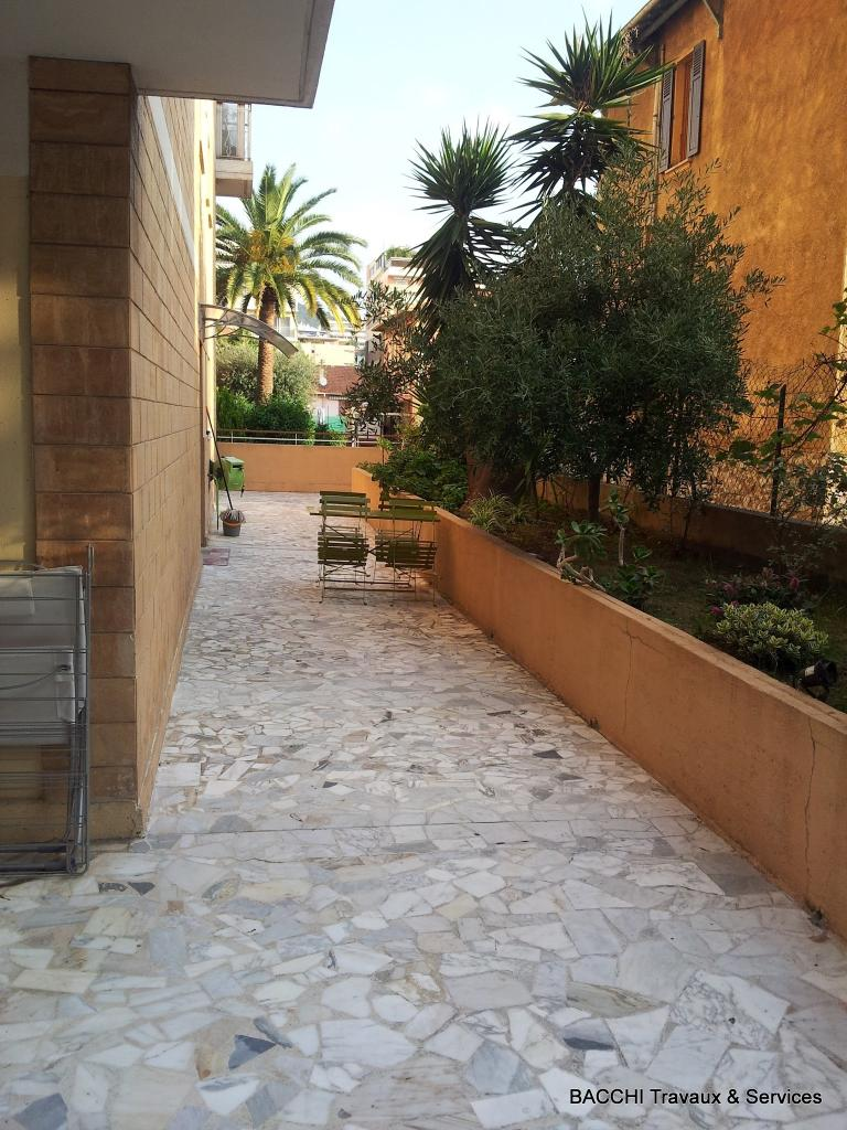 Terrasse : plantation